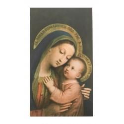 Bidprentje Maria met Jezus