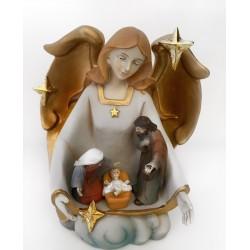 Engel met de Heilige Familie