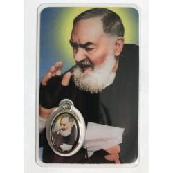 Medaillekaartje Pater Pio