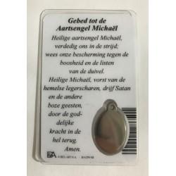 Medaillekaartje aartsengel Michaël