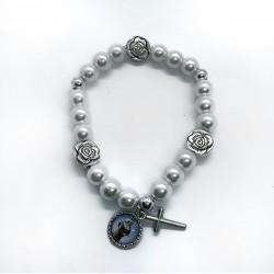 Armband parels en rozen