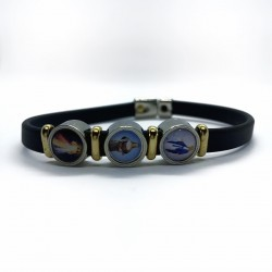 Armband drie medailles