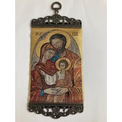 Geweven ikoon heilige familie