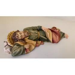Slapende Jozef houtsnijwerk...
